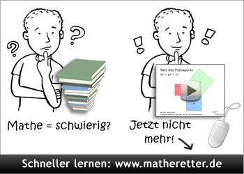 Mathe lernen mit Matheretter