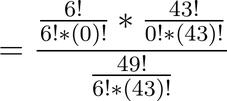 Lotto Wahrscheinlichkeit Berechnung