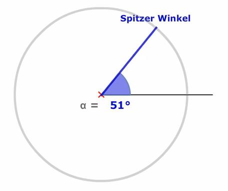 Spitzer Winkel