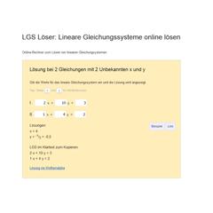Liste aller Mathe-Lernprogramme | Matheretter