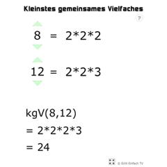 Kleinstes Gemeinsames Vielfaches Berechnen : lektion g11 ggt und kgv matheretter ~ Themetempest.com Abrechnung