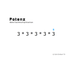 Potenzen (Animation)