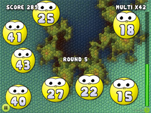 Mathe Spiel: Number Bobble