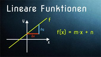 Lineare Funktion in Normalform - Funktionsgleichung